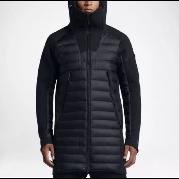 Nike Fleece 822243 Down Aeroloft 010 Tech Nwt Parka Nnmvw80
